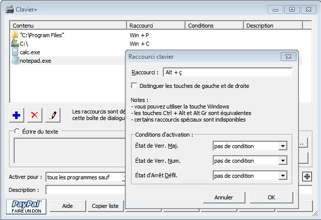 Personnaliser son clavier avec clavier arbisa for Fenetre qui clignote